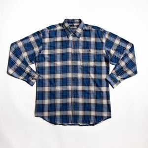 Well crafted Blue flannel