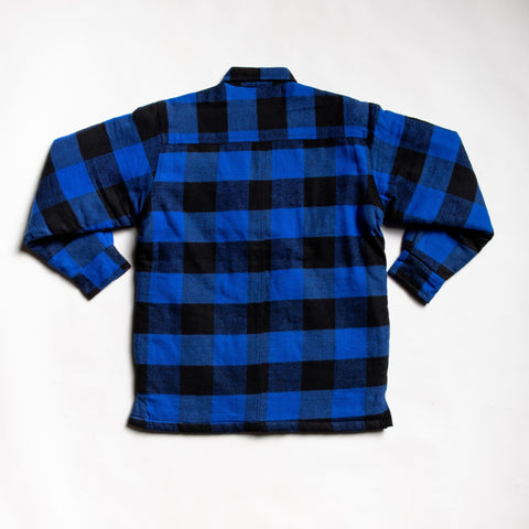 Image of Highly affordable blue flannel
