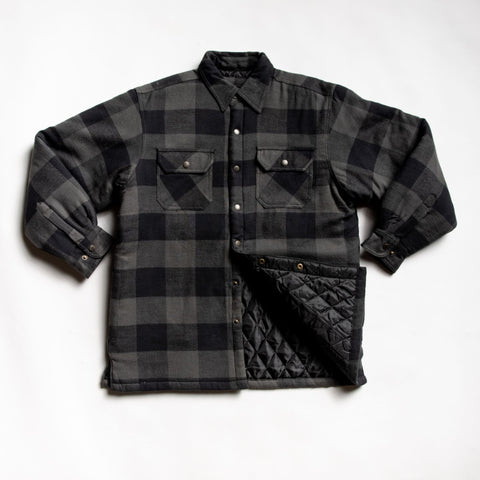 High quality charcoal flannel