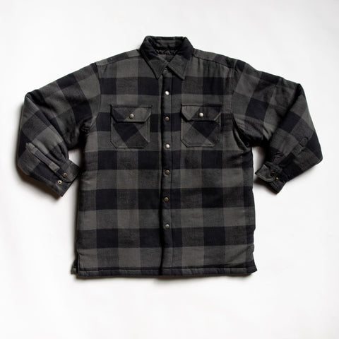 Expertly crafted charcoal flannel