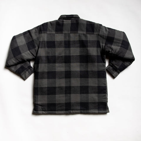 Affordable charcoal flannel