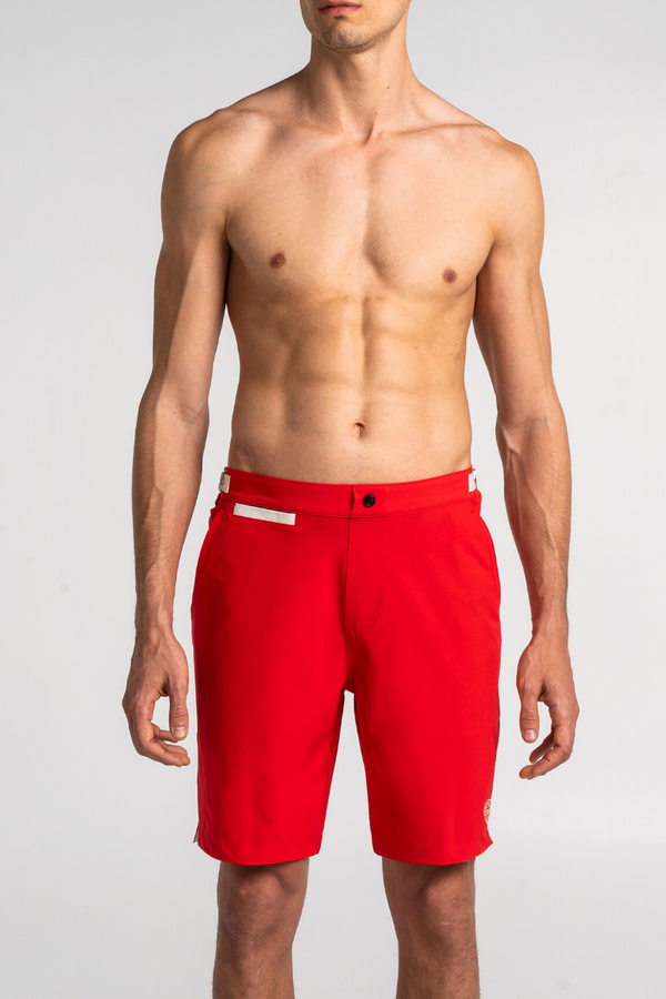 Dark Red Swim Bermuda Debayn Men's Swimwear