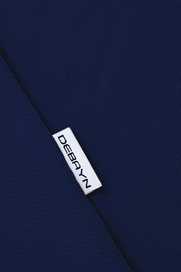 Polo Navy Menton Debayn Side Label