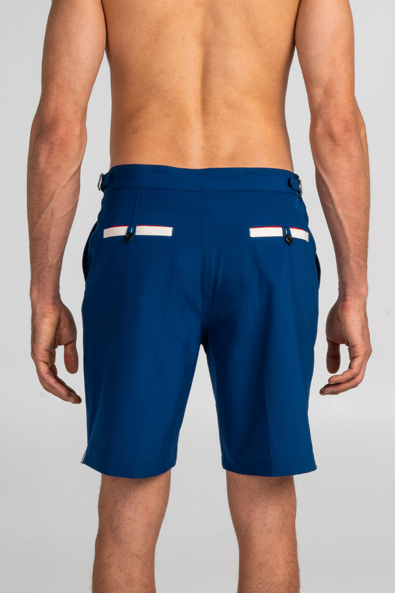 Marine Blue Swim Bermuda Debayn Men's Swimwear