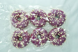 Dots Purple White 6x75g