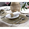 Made Terra Placemats Seagrass Oval Placemats (Set 4) | Dining table party decorative Charger Alternative