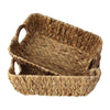 Made Terra Wicker Basket Wicker Baskets with Handles (Set of 2) | for Bathroom, Kitchen, Home Storage and Decor