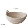 madeterra.uk Banneton 20cm Made Terra Round Cotton Banneton Bread Proofing Basket Sourdough Bread Dough Rising Baskets for Artisan Bakers