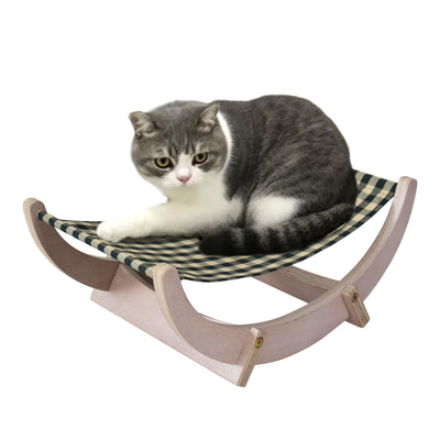madeterra.uk cat hammock White Made Terra Cat Hammock Rat Pet Hanging Bed for Cat Hamster Parrot Squirrel Hedgehog Small Animals Plywood