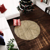 madeterra.uk wicker mat Made Terra Round Woven Area Rug for Living Room Bedroom Floor Mat Braided Anti-Slip Foldable Natural Fiber Seagrass Wicker Rug
