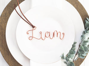 Wire Name Place Setting