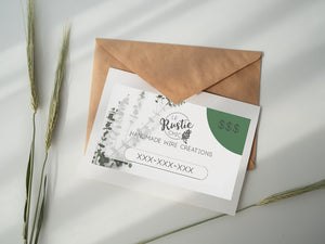 Le Rustic Chic Gift Card