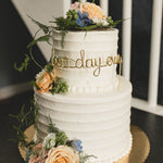 Load image into Gallery viewer, Best Day Ever Wire Cake Topper