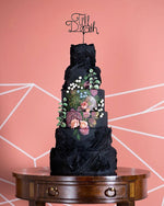 Load image into Gallery viewer, Till Death Gothic Cake Topper