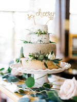 Load image into Gallery viewer, So Cheesy Wire Cake Topper