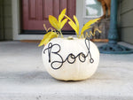 Load image into Gallery viewer, Boo! Wire Word Pumpkin Decor