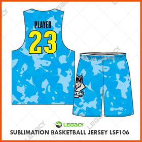 Sublimation Basketball Jersey LSB106