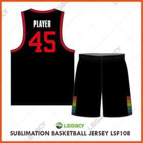 Sublimation Basketball Jersey LSB108