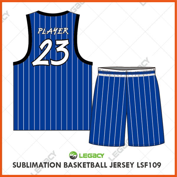Sublimation Basketball Jersey LSB109