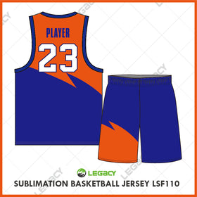 Sublimation Basketball Jersey LSB110