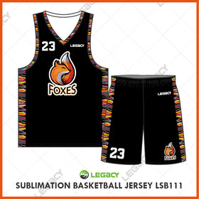 Sublimation Basketball Jersey LSB111