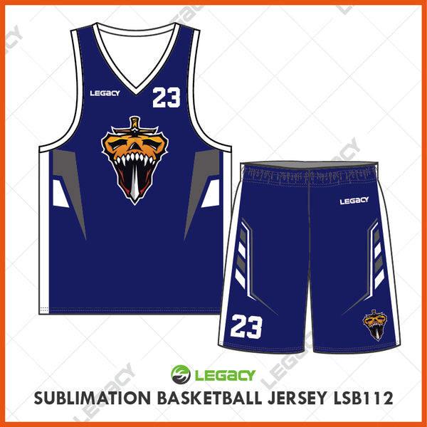 Sublimation Basketball Jersey LSB112
