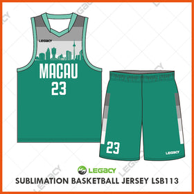 Sublimation Basketball Jersey LSB113