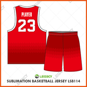 Sublimation Basketball Jersey LSB114