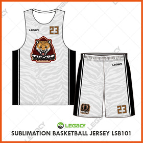 Sublimation Basketball Jersey LSB101