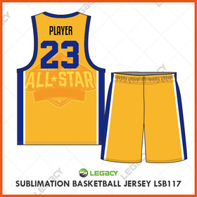 Sublimation Basketball Jersey LSB117