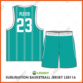 Sublimation Basketball Jersey LSB116