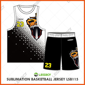 Sublimation Basketball Jersey LSB115