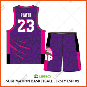 Sublimation Basketball Jersey LSB102