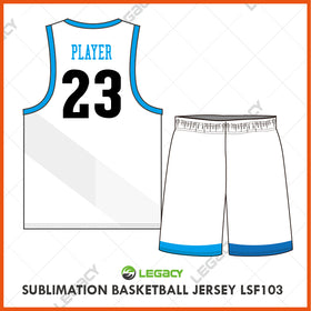 Sublimation Basketball Jersey LSB103