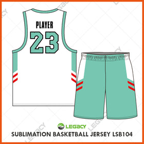 Sublimation Basketball Jersey LSB104