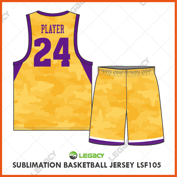 Sublimation Basketball Jersey LSB105