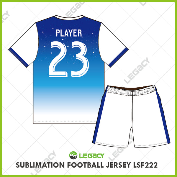Legacy Sublimation Football jersey LSF222