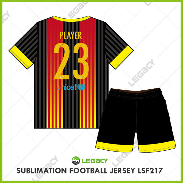 Legacy Sublimation Football jersey LSF217