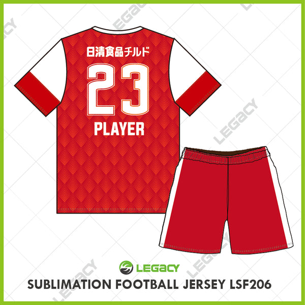 Legacy Sublimation Football jersey LSF206