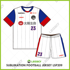 Legacy Sublimation Football jersey LSF209