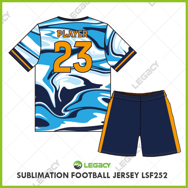 Legacy Sublimation Football jersey LSF252