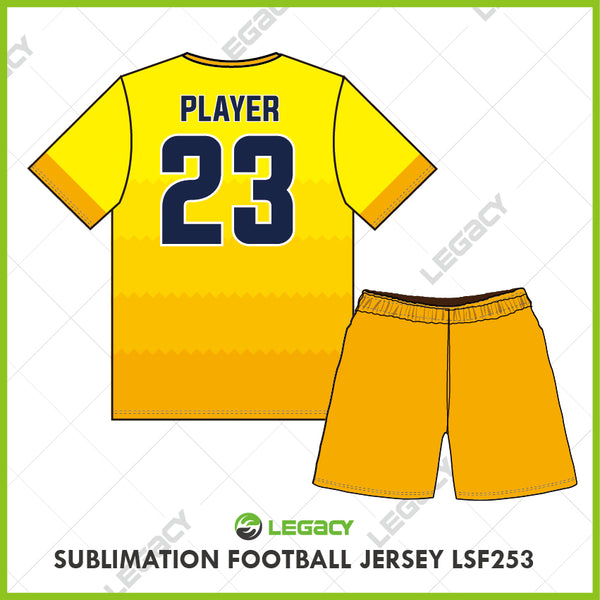Legacy Sublimation Football jersey LSF253