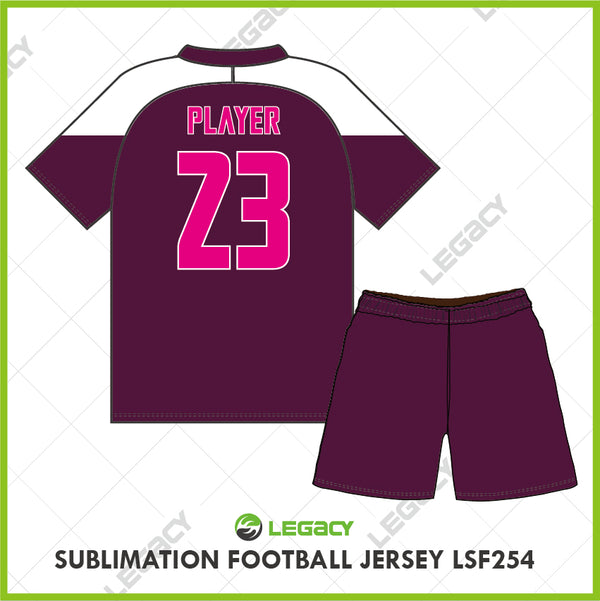 Legacy Sublimation Football jersey LSF254