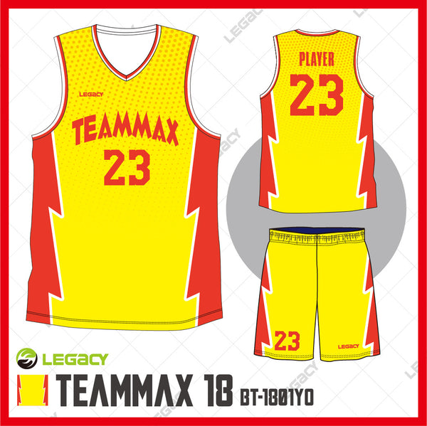 Legacy TeamMax 18 Basketball jersey