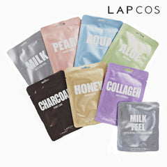 LAPCOS Face Masks Variety Pack 7+1