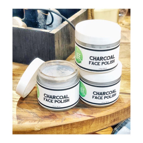 THEE Charcoal Face Polish