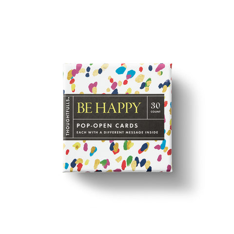 ThoughtFulls Pop-Open Cards - Be Happy