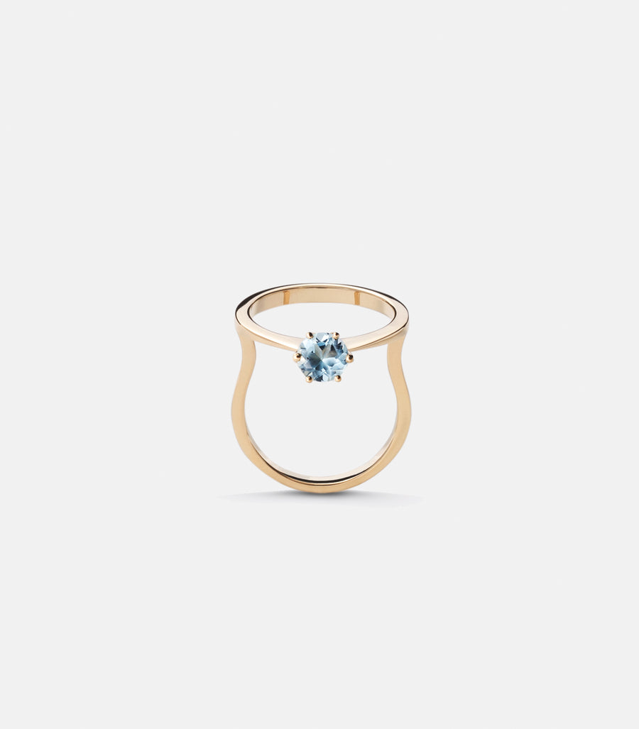 Blue Icon ring