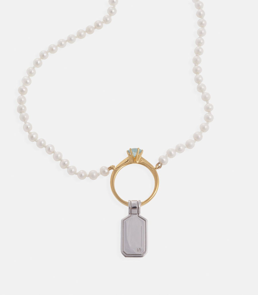 Icon Ring necklace