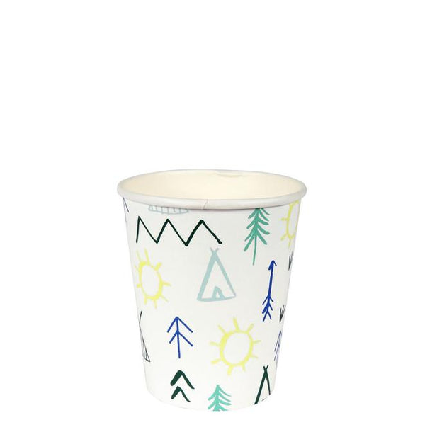 Let's Explore - Woodland Adventure Party Cups